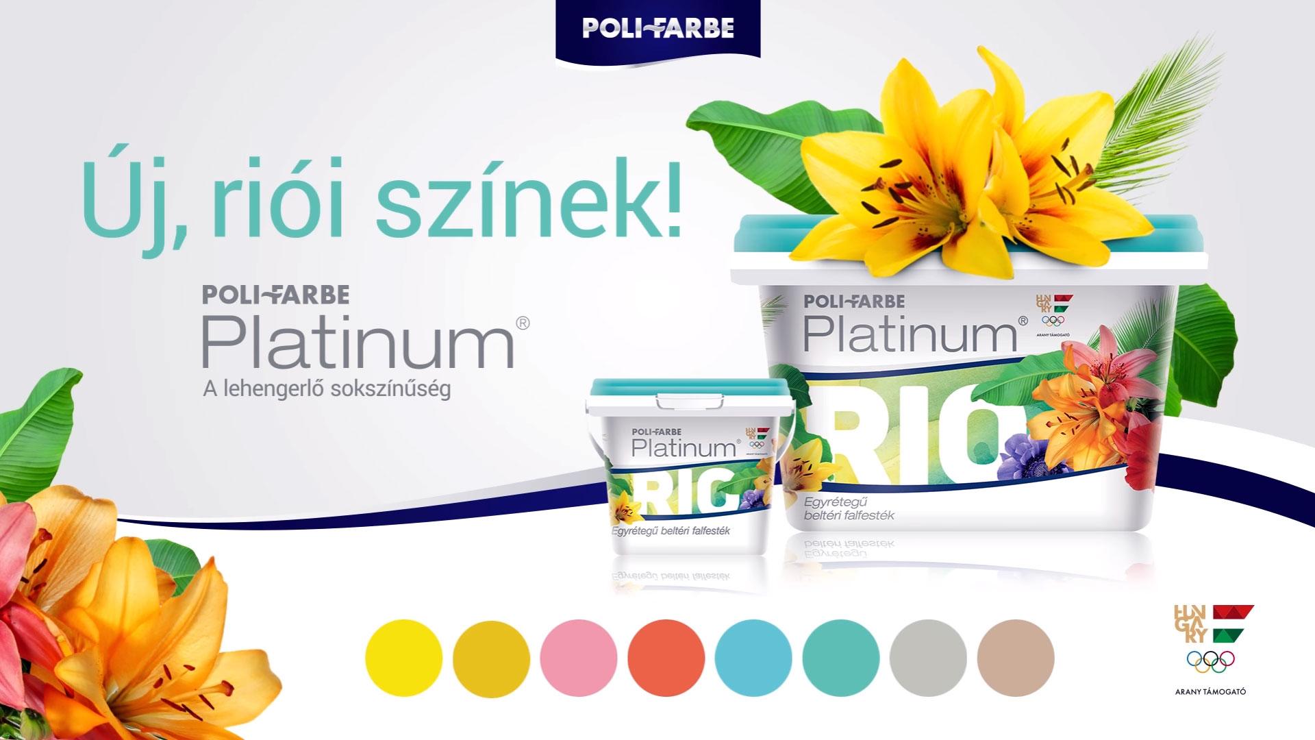 Poli Farbe Platinum Rio plakát
