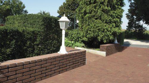 Leier Patio térkő és falazókő kerítés és udvar