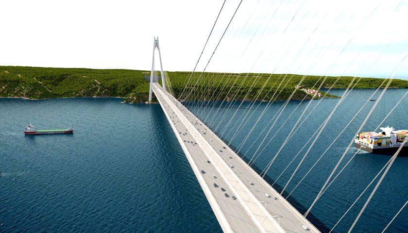 Jövő tavasszal kezdődik a Dardanellákon átívelő híd építése