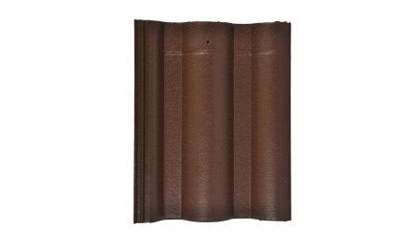 Leier Lux tetőcserép barna