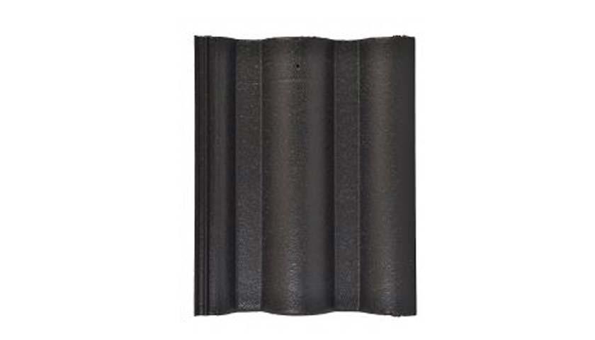 Leier Lux tetőcserép fekete