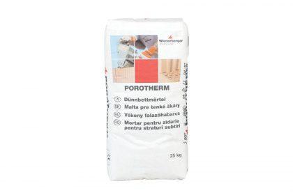 Porotherm Profi vékony ragasztóhabarcs