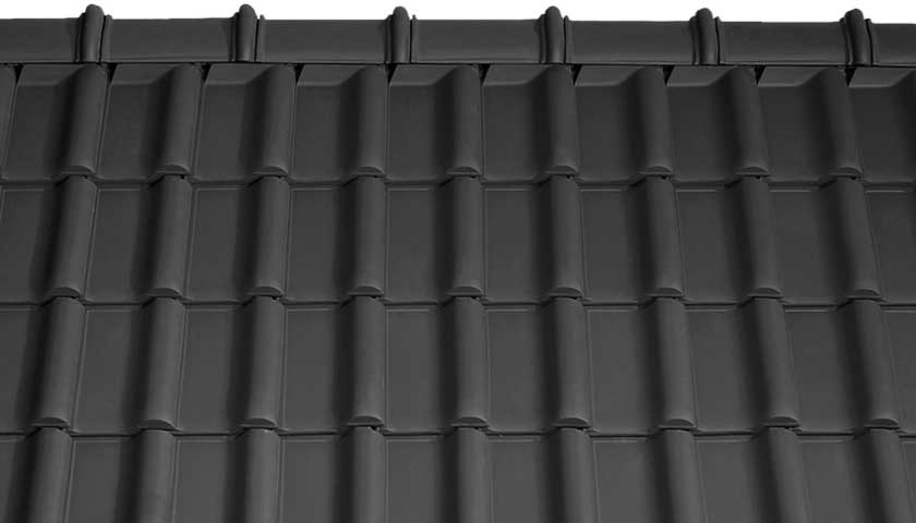 Tondach Rumba Antracit tető