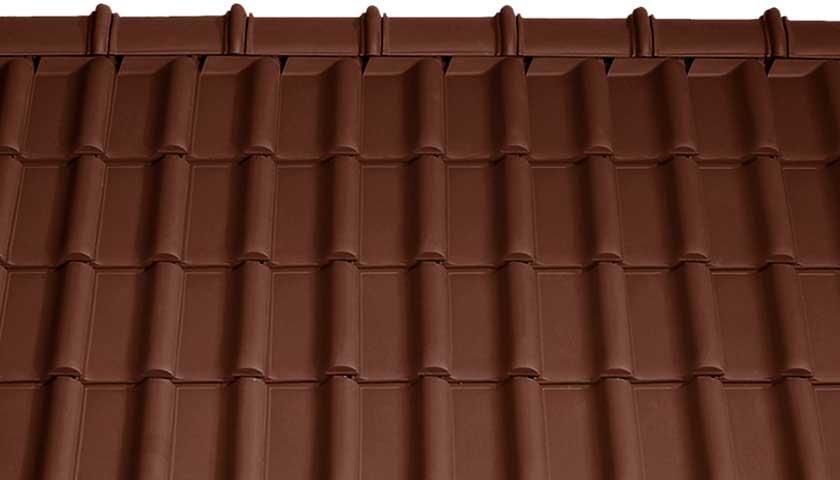 Tondach Rumba Barna tető