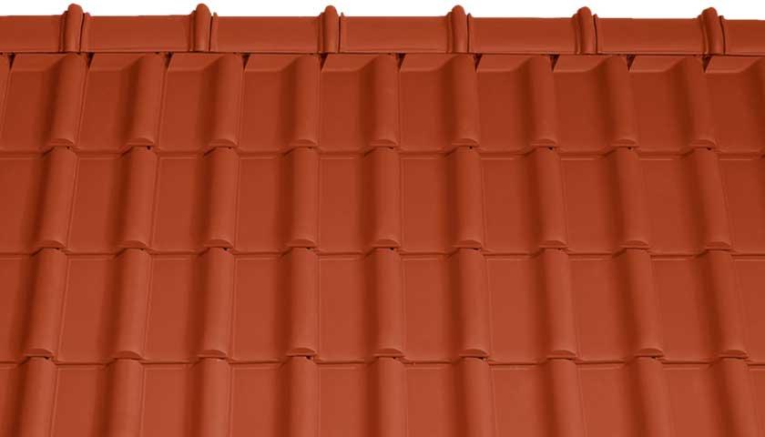 Tondach Rumba Piros tető