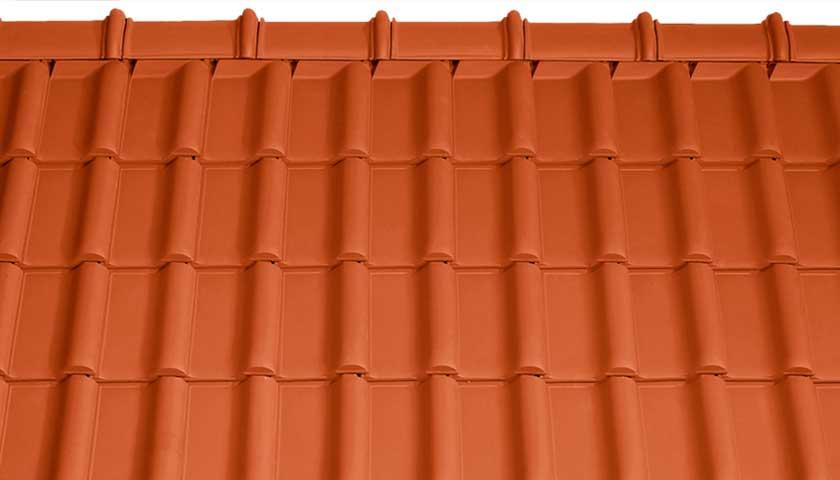 Tondach Rumba Terrakotta tető