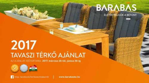 Barabás térkő tavaszi akció