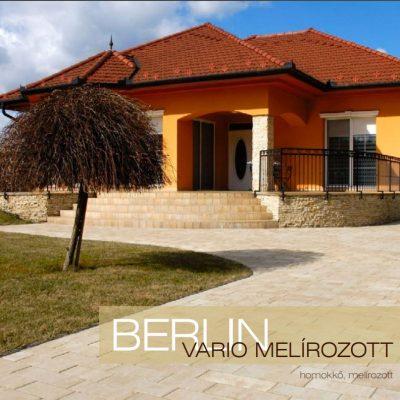 Berlin Vario melírozott térkő