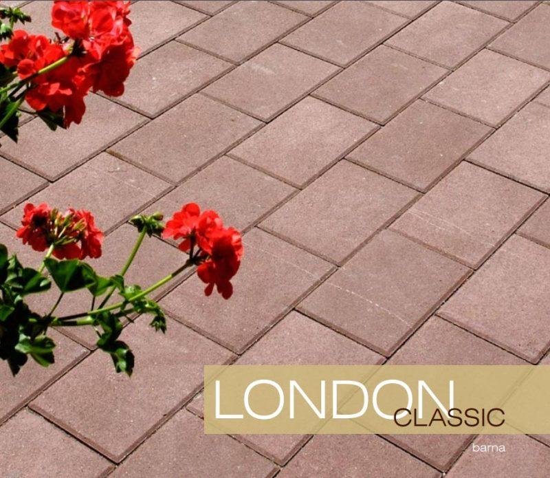 London Classic térkő