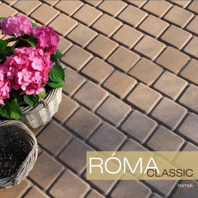 Róma Classic térkő és virág