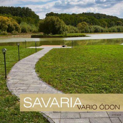 Savaria Vario Ódon térkő füves tópart