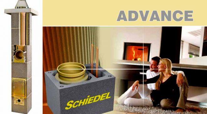 Schiedel Advance kéményrendszer