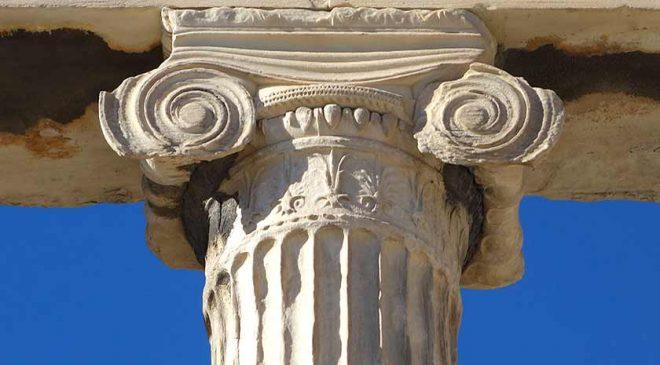 A görög ión oszloprend