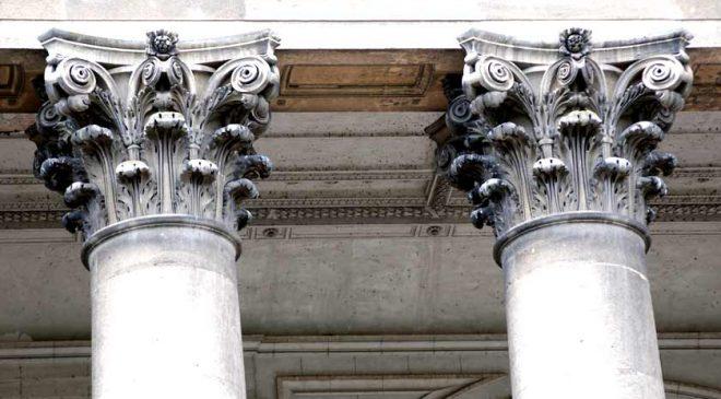 A görög korinthoszi oszloprend