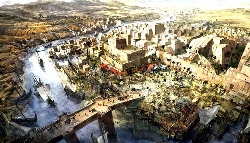 Építőanyagok Mezopotámia építészetében