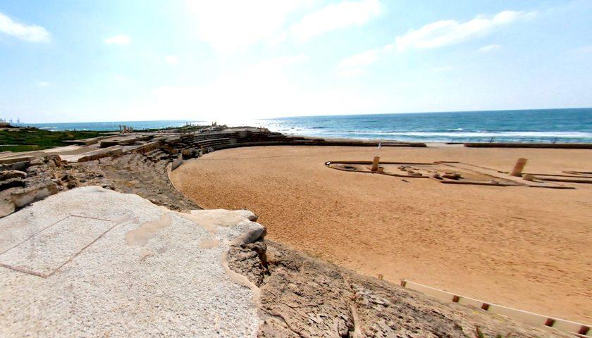 Megtalálták az ókori Cézárea kapuját Izraelben