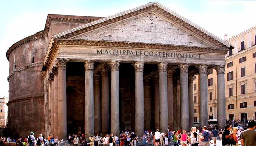 Az ókori Róma építészetében használt építőanyagok