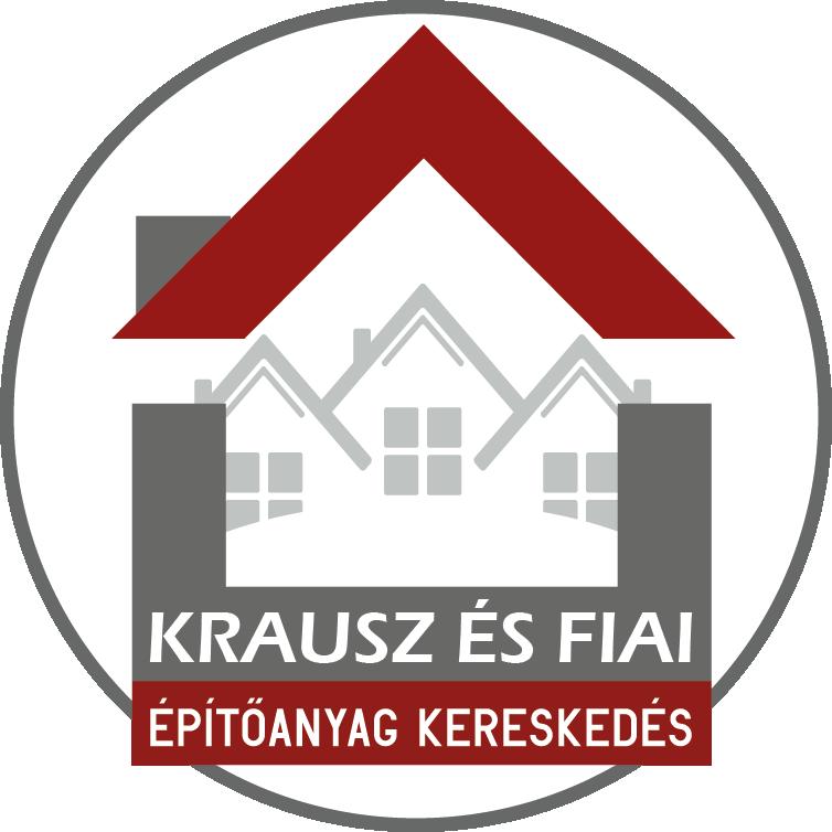 Krausz és fiai építőanyag kereskedés logó