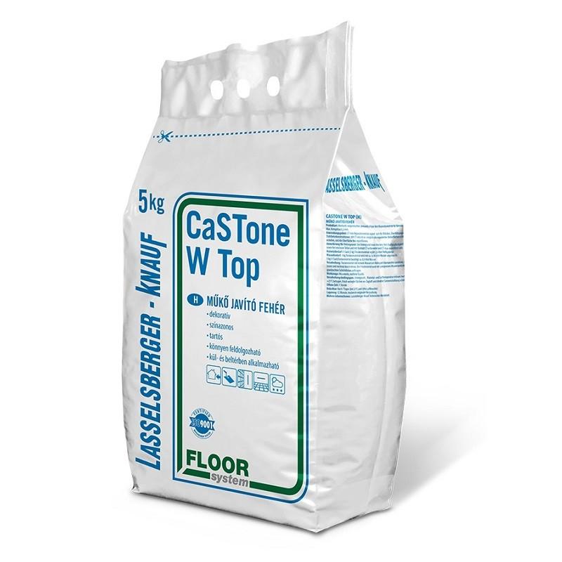 Lb-Knauf Castone műkő fehér 5 kg-os zsák