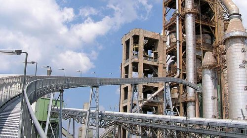 Befejezték a Váci Cementgyár korszerűsítését