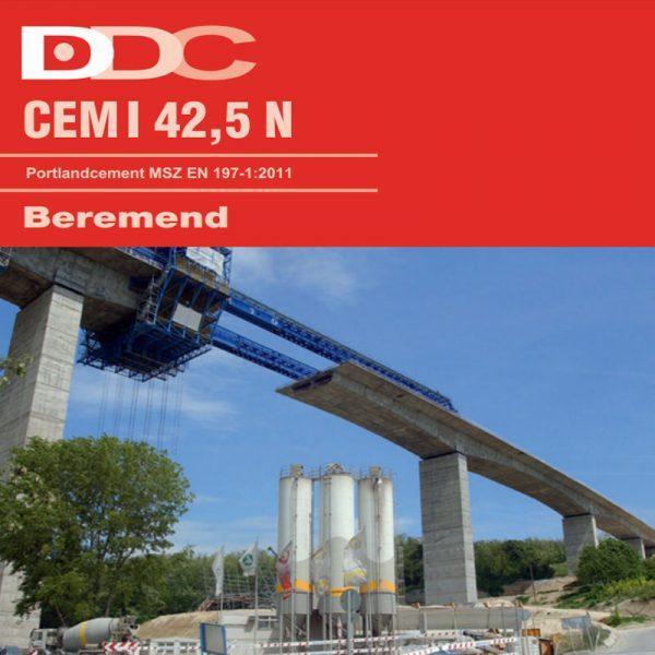 Beremendi Portlandcement EN 197-1 CEM I 42,5 N