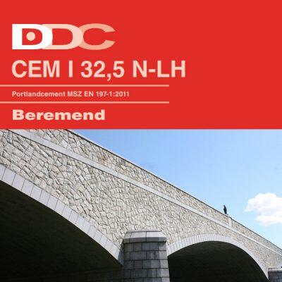 CMEI 32,5 N-LH cement - Építőanyag .eu