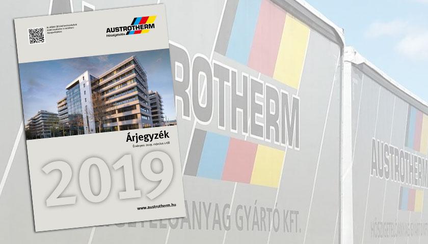 Austrotherm árak 2019