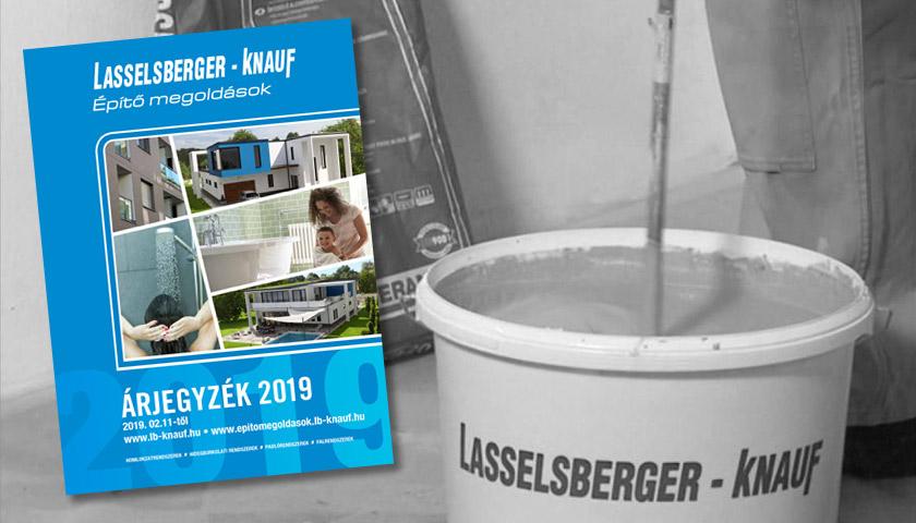 LB-Knauf árlista 2019