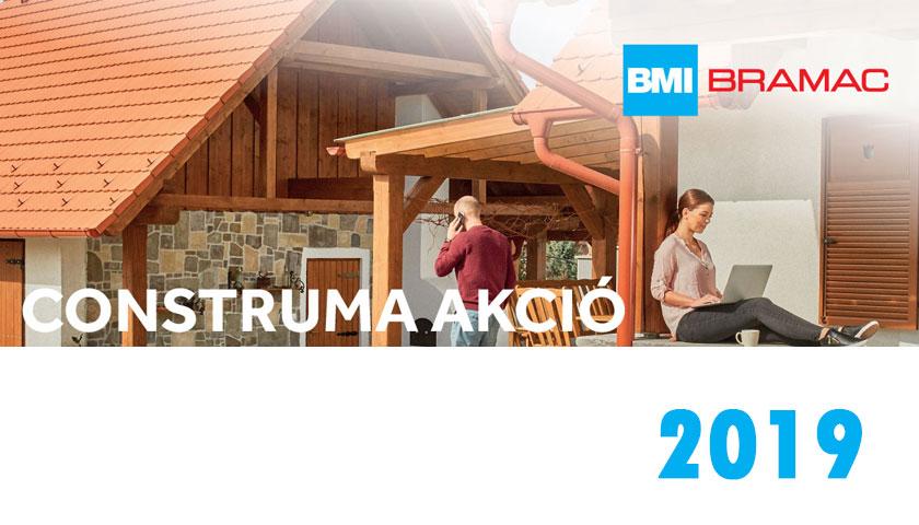 Bramac Construma akció 2019