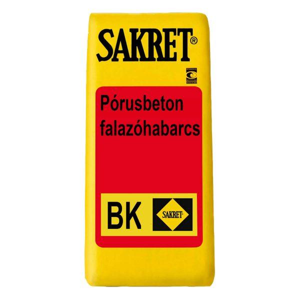 Sakret BK Pórusbeton falazóhabarcs - Építőanyag .eu