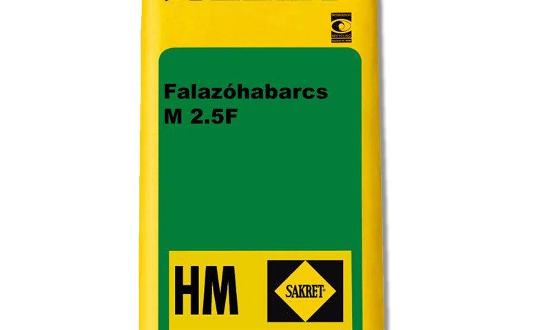 Sakret HM-2.5-F falazóhabarcs - Építőanyag .eu