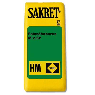 Sakret HM-2.5-P Falazóhabarcs - Építőanyag .eu