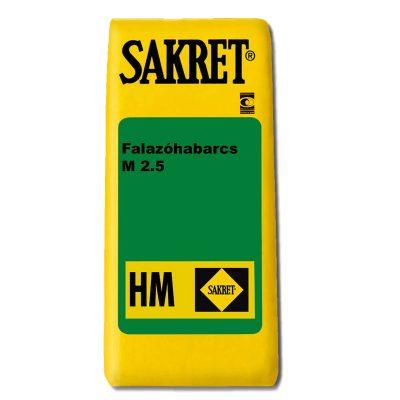 Sakret HM-2.5 Falazóhabarcs M2,5 - Építőanyag .eu