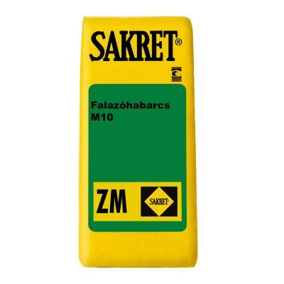Sakret ZM-Falazóhabarcs-M10 - Építőanyag .eu