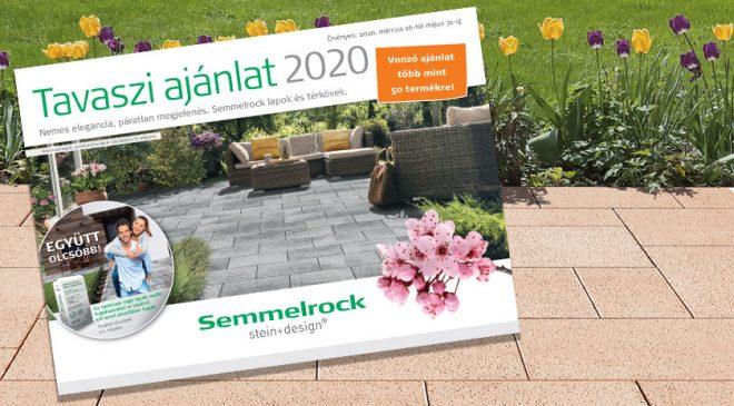 Semmelrock térkő akció 2020 március 16-tól