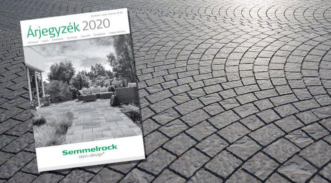 Semmelrock térkő árak 2020