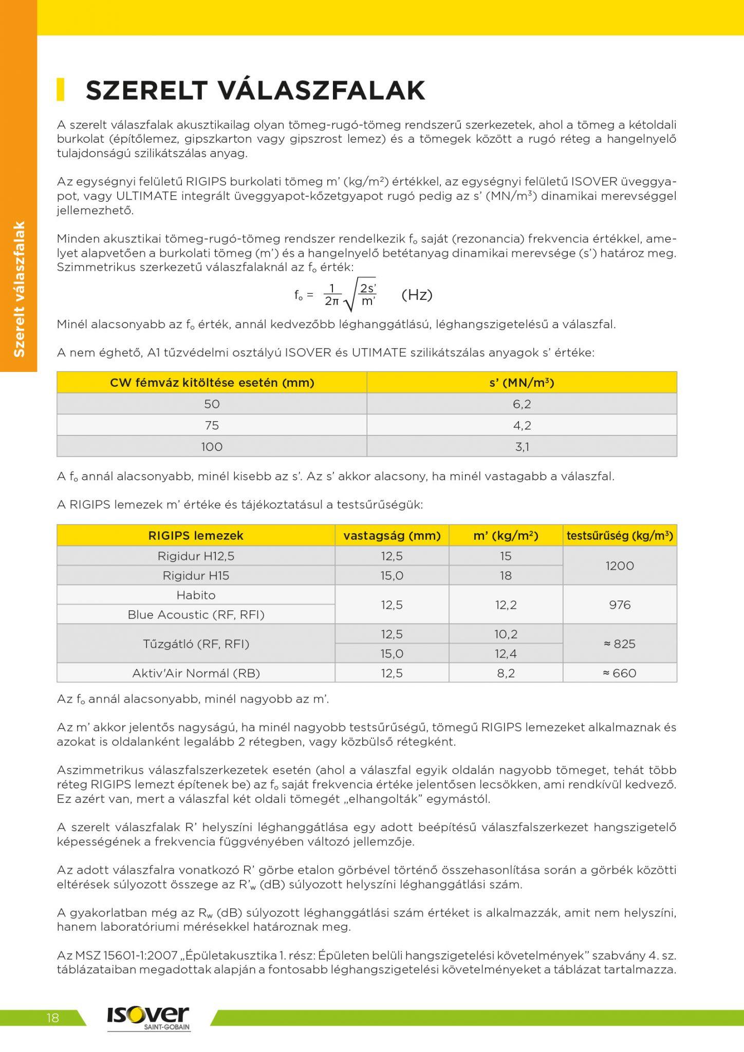 Isover árak 2021 / 18 oldal