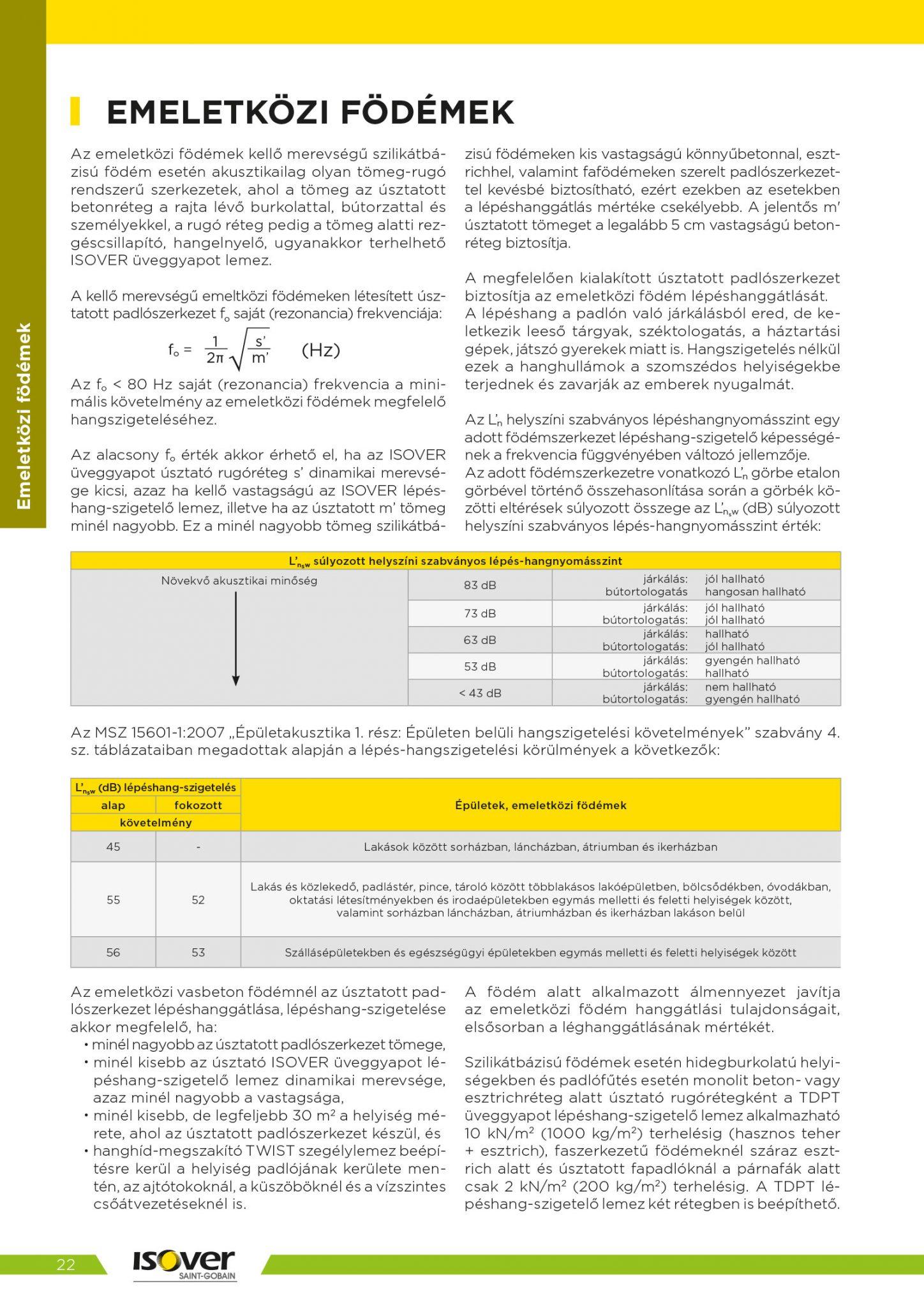 Isover árak 2021 / 22 oldal