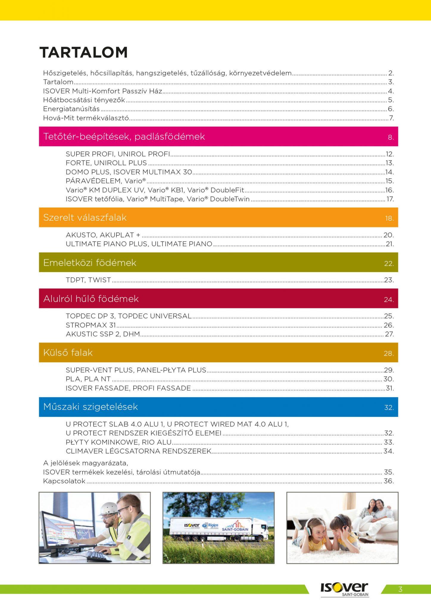 Isover árak 2021 / 3 oldal